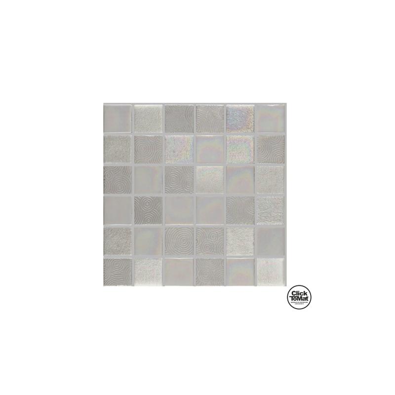 Gresite de Decoración Iron Silver de Togama 30,7x30,7